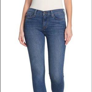 Hudson Natalie Super Skinny Mid-Rise med-wash jean